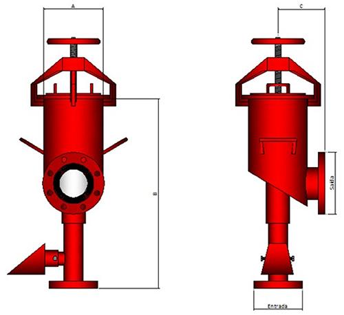 Image das características da Câmara de espuma Modelo MCS