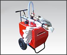 Foto do produto Carreta de espuma Capacidade 130 litros