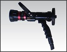 Foto do produto Esguicho manual auto edutor Vazão de 30, 60, 95 e 125 gpm