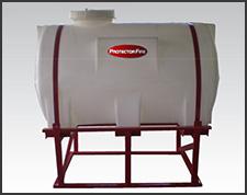 Foto do produto Tanque horizontal em polietileno
