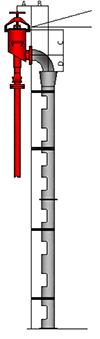 Image do Tubo cascata da Câmara de espuma Modelo TC